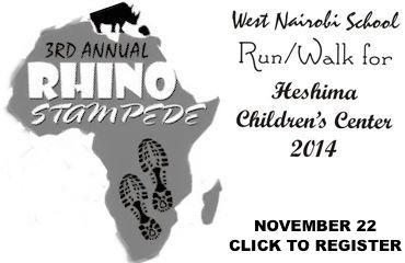 Rhino Stampede November 22, 2014
